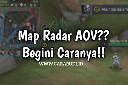 Cara Menggunakan Map Radar AOV Server Baratayuda [Indonesia]