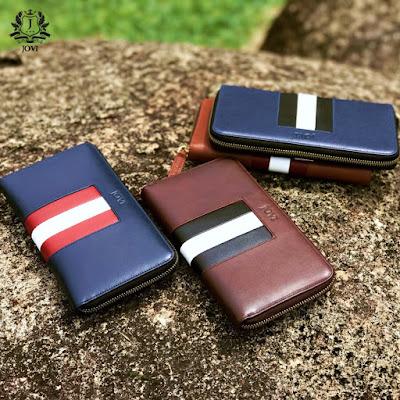 Beli 2 Wallet JOVI Leather Dengan Harga Istimewa