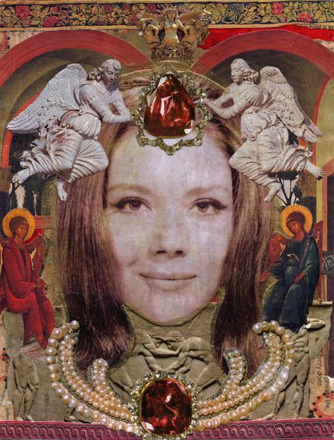 Collage -- TV Saint -- Emma Peel