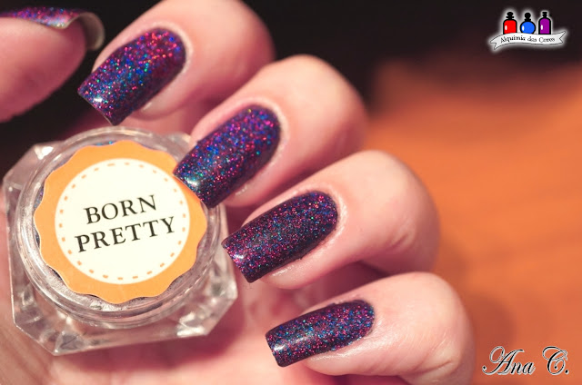Born Pretty – Starry Holographic Laser Powder #5 (item #39115)