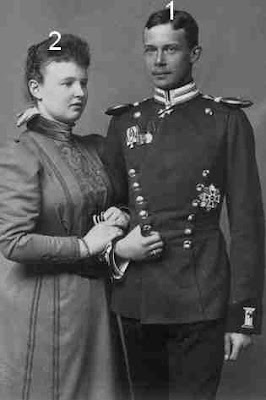 Wilhelm Friedrich Hermann Otto Karl 6. Fürst zu Wied-Prinzessin Pauline Olga Helene Emma von Württemberg