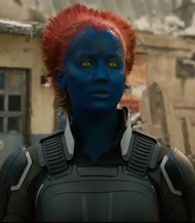 Mystique des X-Men représente à elle seule les mutants et l'adaptation