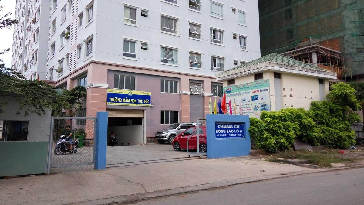 Chung cư Bông Sao quận 8