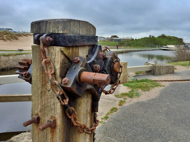 Canal workings at Bude, Cornwall