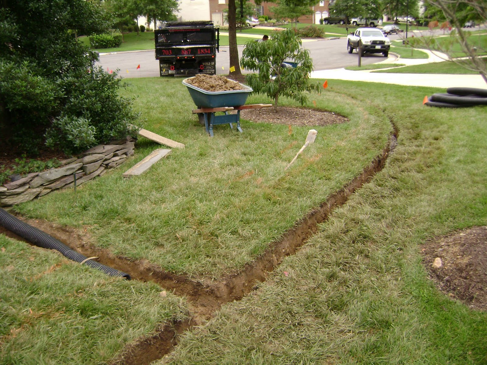 Drainage System French Drain