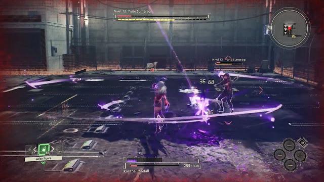 Yuito Sumeragi Kasane Randall Combate Scarlet Nexus
