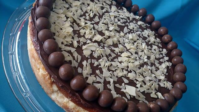 tarta queso cheesecake nocilla nutella chocolate blanco escamas quark saludable jugosa horno