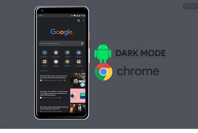 Cara Mudah Mengaktifkan Mode Gelap di Chrome untuk Android 4