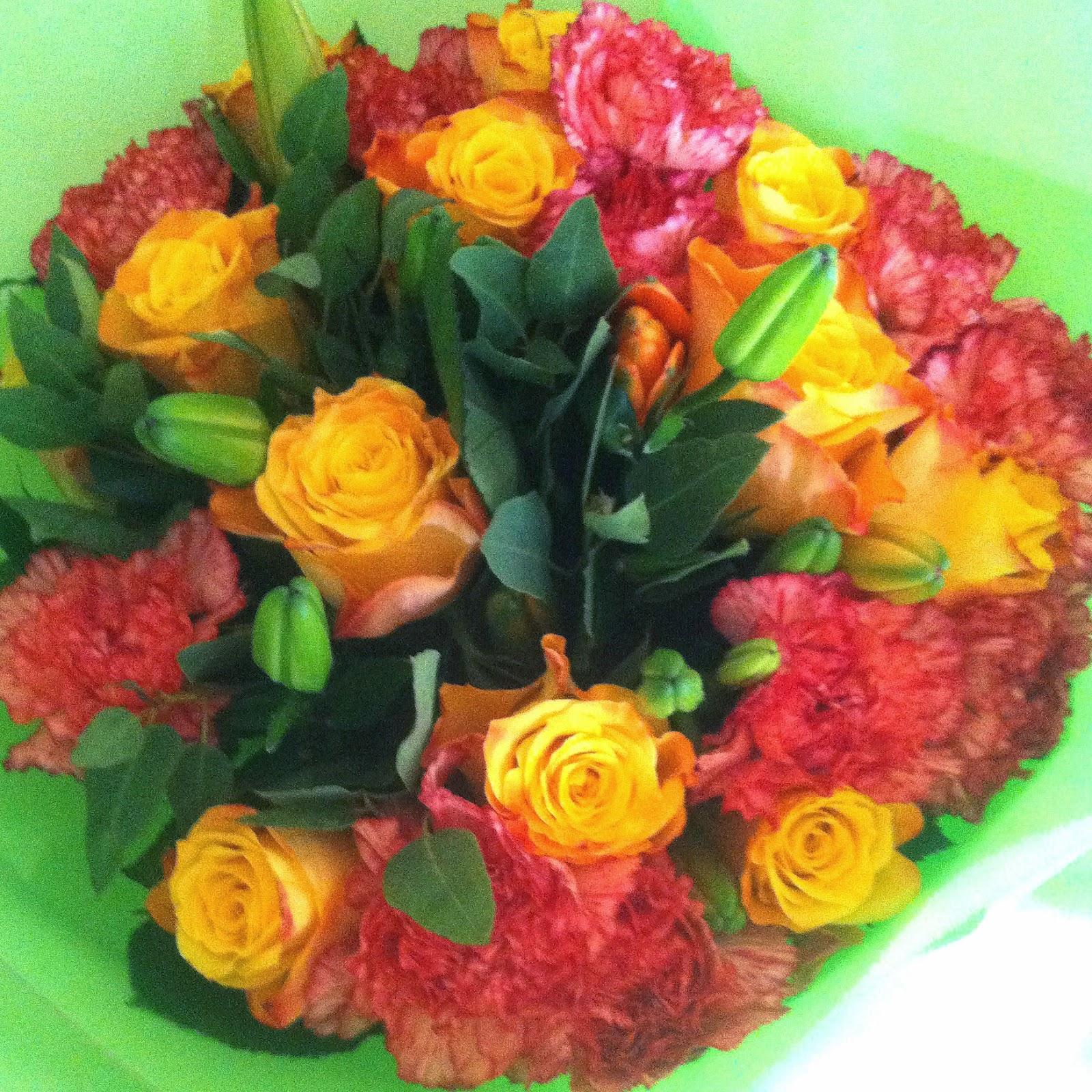 Autumn Morning Bouquet - Debenhams Flowers - Laura Trends
