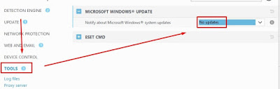 Disable Notify Windows Update