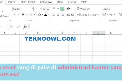Rumus Perhitungan Microsoft Excel  Lengkap
