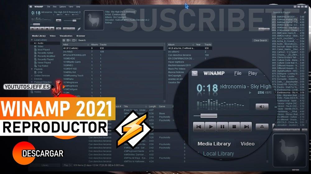 Descargar Winamp Ultima Versión 2021 Español
