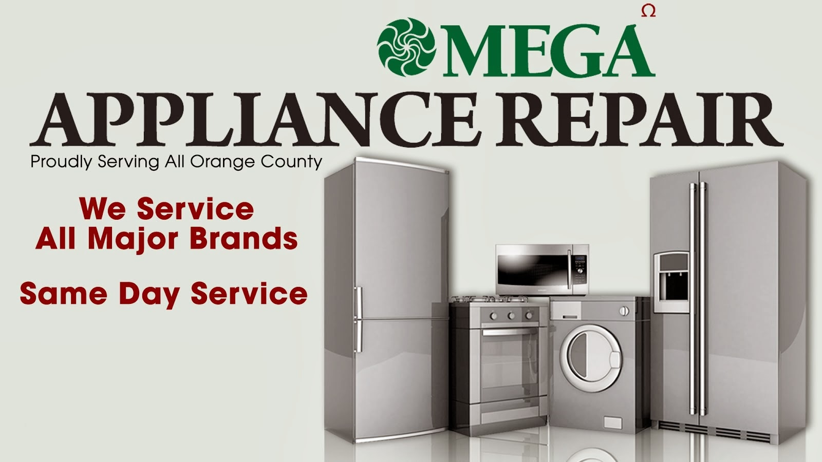 Omega Appliance Repair 800 545 5618