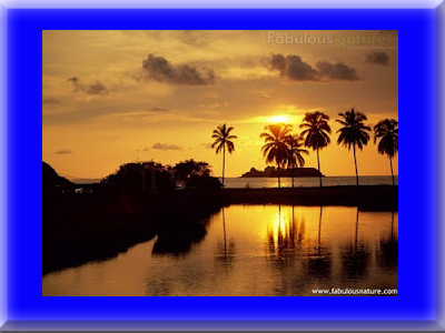 8 Gambar Pemandangan Sunset Paling Keren  Gambar Hidup