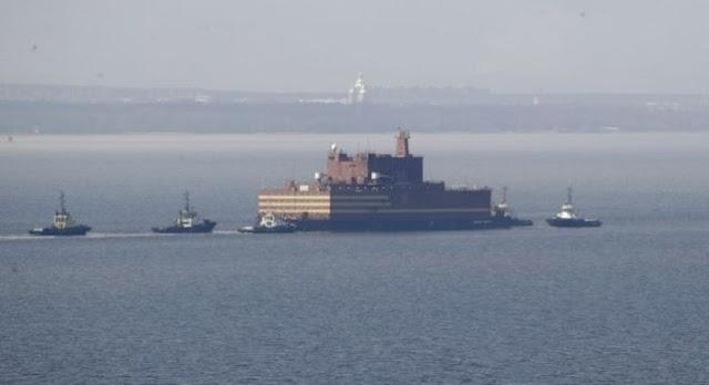 Στην Αρκτική ο πρώτος πλωτός πυρηνικός σταθμός της Ρωσίας