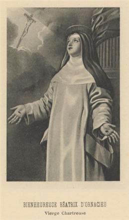blažena Beatrika de Ornacieux - devica in redovnica