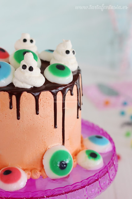 Tutorial Drip Cake Halloween