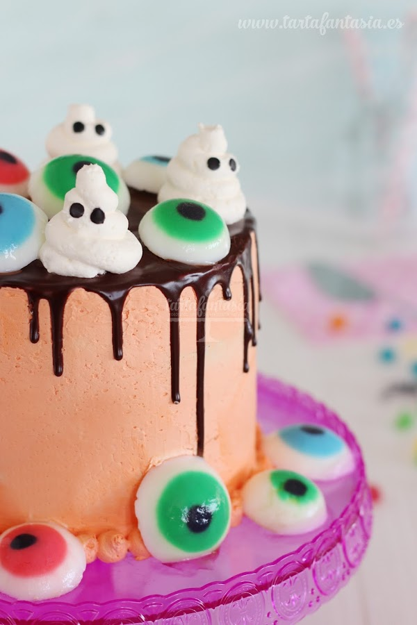 Tutorial Drip Cake Halloween