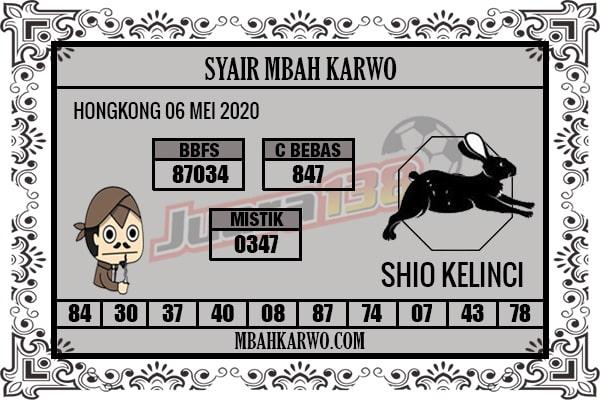 Prediksi HK 06 Mei 2020 - Mbah Karwo HK