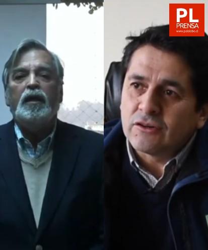 Pedro Bustos y Sergio Iraira
