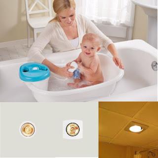 Đèn sưởi 1 bóng phòng tắm