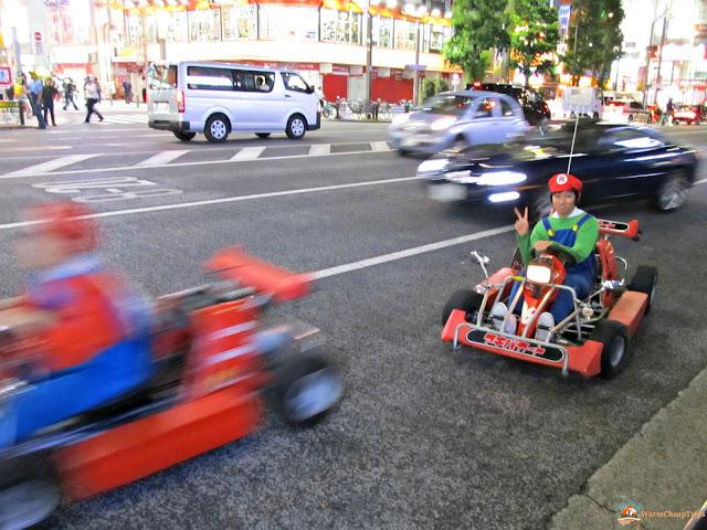 Tokyo Mario Kart Akiba