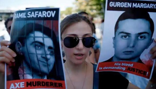 Condenan liberación del asesino Safarov de Azerbaiyán