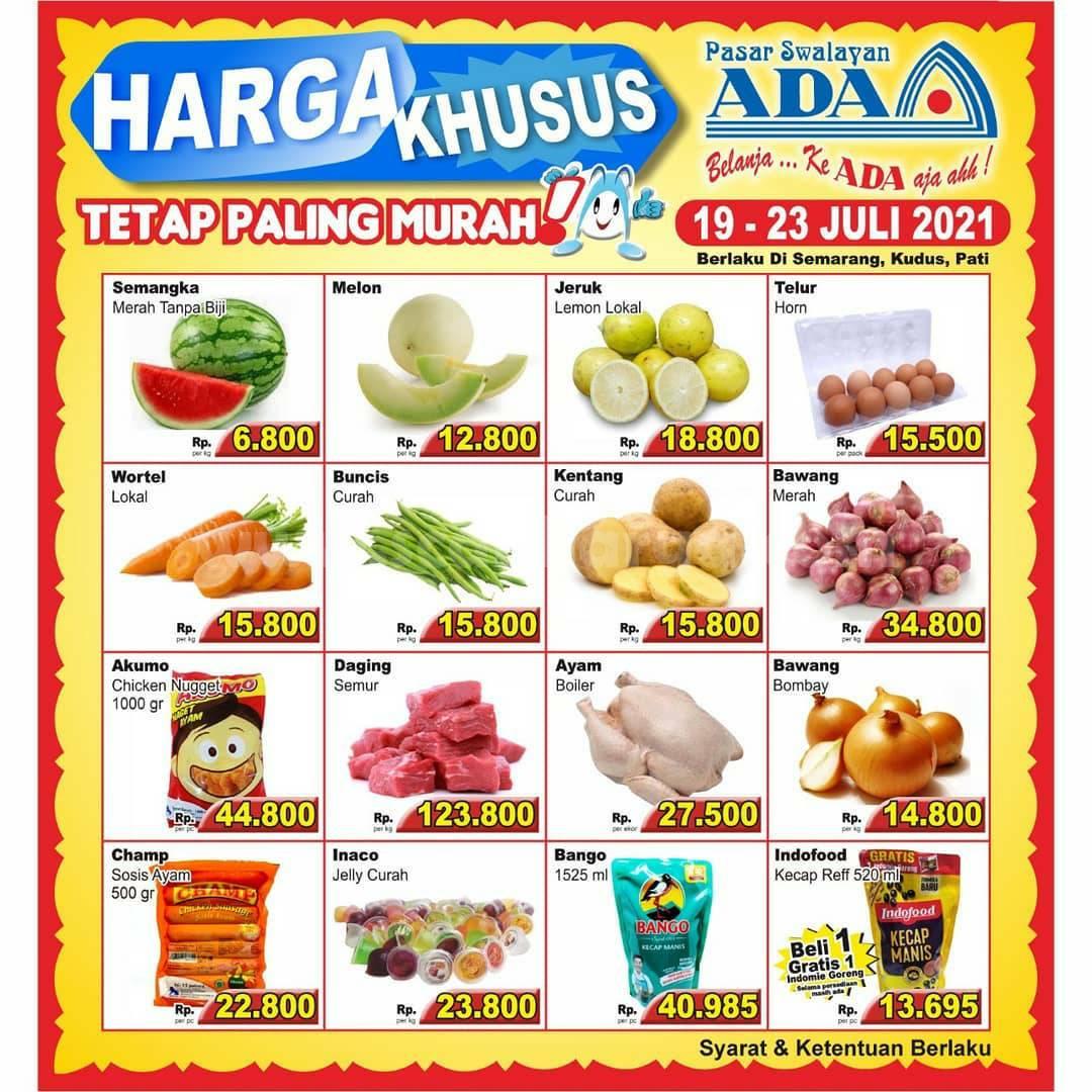 Promo Katalog Ada Swalayan Weekday Harga Khusus 19 - 23 Juli 2021