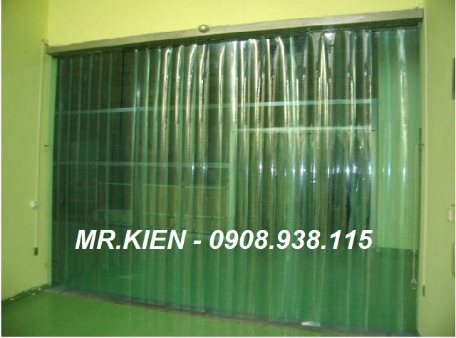 Thi công màn cửa nhựa PVC Nhà máy Bia Sài Gòn - Bình Dương