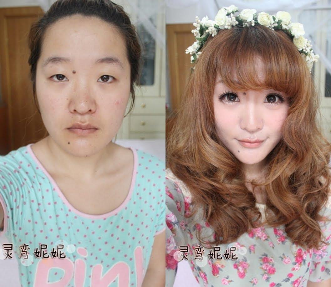 tutorial make up ala korea before after | gaestutorial