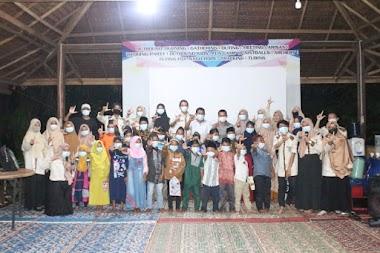 Buka Puasa Relawan Perpustakaan UMSU bersama Anak-anak di Kampung Outbond
