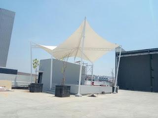 Jual Tenda Membran atau kanopi membran dengan Harga murah