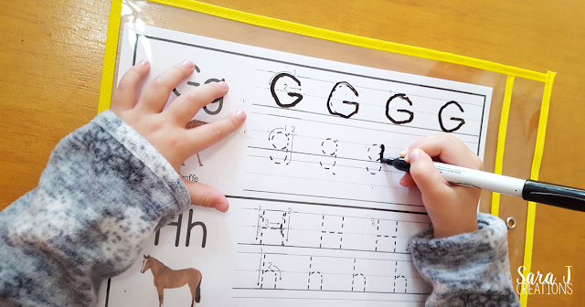 Letter G Activities that would be perfect for preschool or kindergarten. Sensory, art, fine motor, literacy and alphabet practice all rolled into Letter G fun.