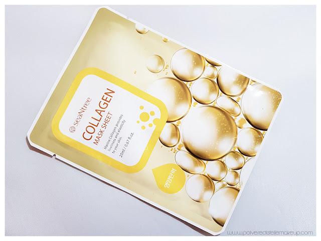 Collagen Mask Sheet SeaNtee