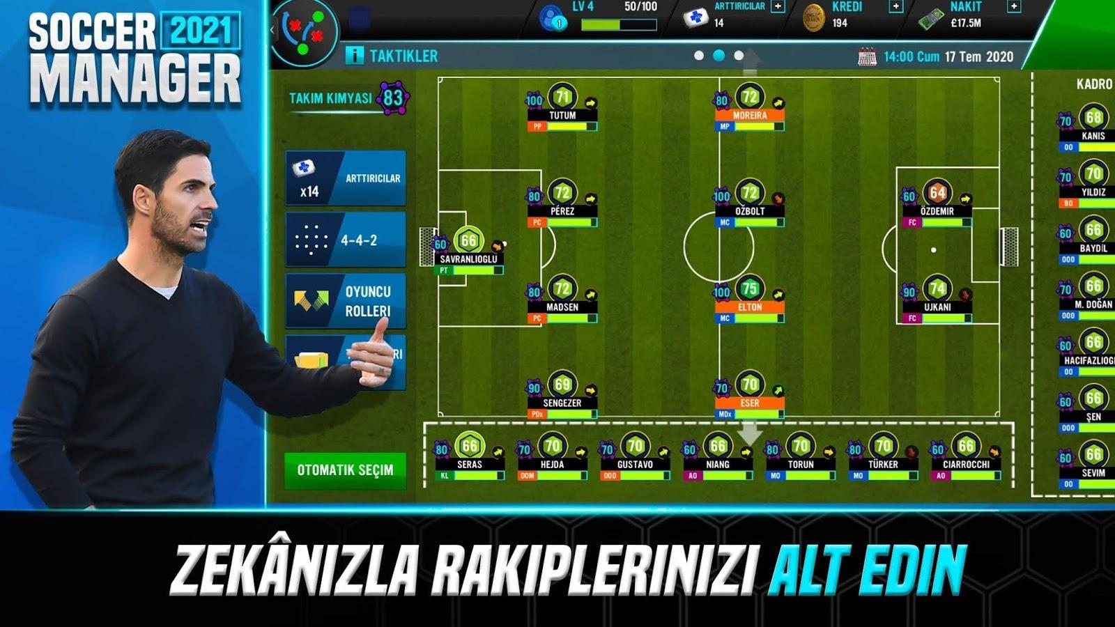 Soccer Manager 2021 Beşiktaş Modu - Para Hileli APK