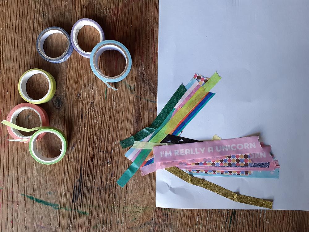 Piles of washi tape
