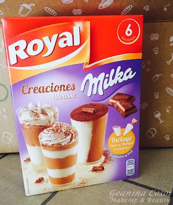Royal Milka Creaciones  Degustabox Febrero 2016