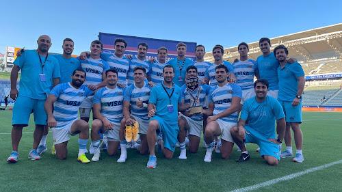 Los Pumas 7s, campeones del Seven de Los Ángeles