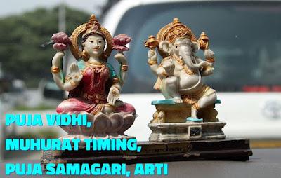 Diwali 2019 Puja vidhi, Muhurat Timing, Puja Samagari, Arti and Puja: Laxmi Pujan Shubh Time