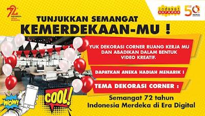 Lomba Dekorasi Corner Indosat Ooredoo (8 - 15 Agustus 2017)