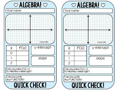 Special Ed Algebra