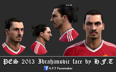 PES 2013 Z.Ibrahimovic face by H.F.T