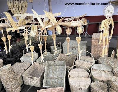 Artesanias de Michoacán hechas con Fibras Vegetales en la Región del Lago de Pátzcuaro