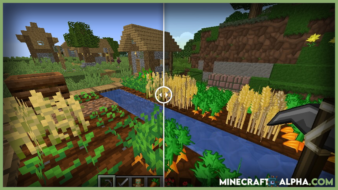 Minecraft PureBDCraft Resource Pack For 1.17.1 (Fps Boost Sphax Texture Pack)