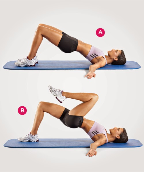 Daily Health Workouts Butt Exercises For Women Home Based Bum Tonin