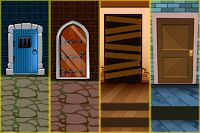 Games2Mad - G2M 7 Door Escape