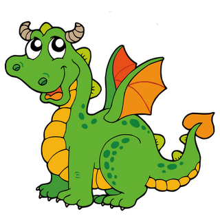 dragon clip art coloring pages - photo#34
