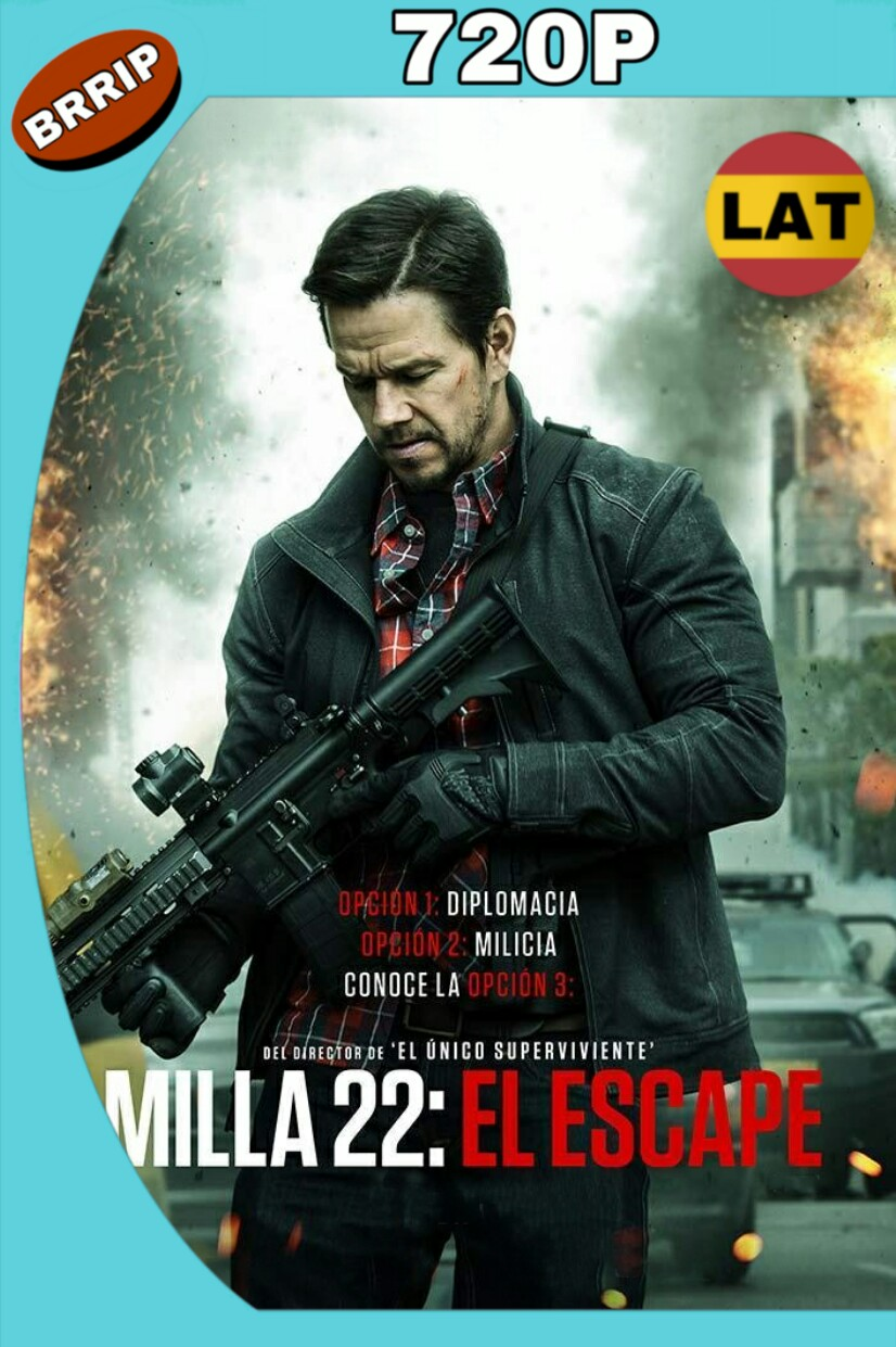 MILLA 22: EL ESCAPE (2018) BRRIP 720P LATINO-INGLES MKV