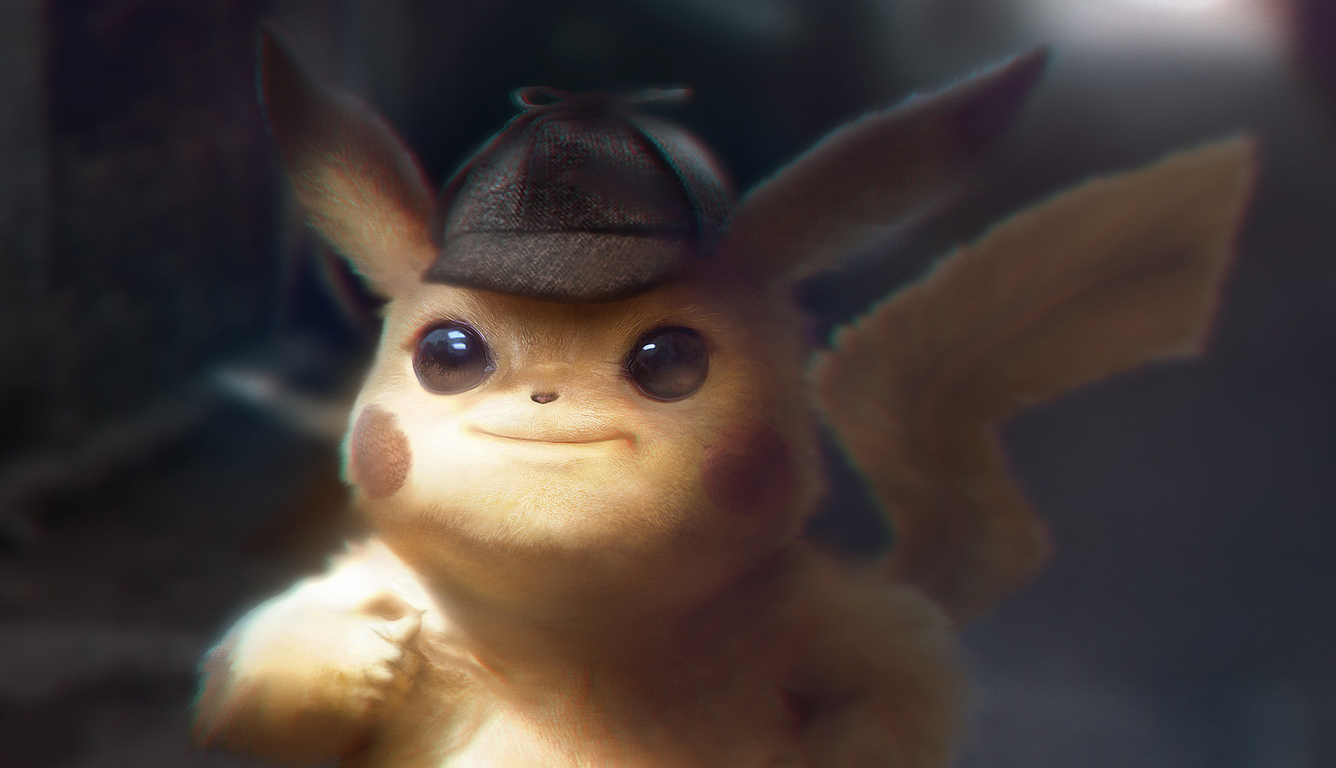 Pokemon Detective Pikachu Desktop Wallpapers Hd Pikachu 4k