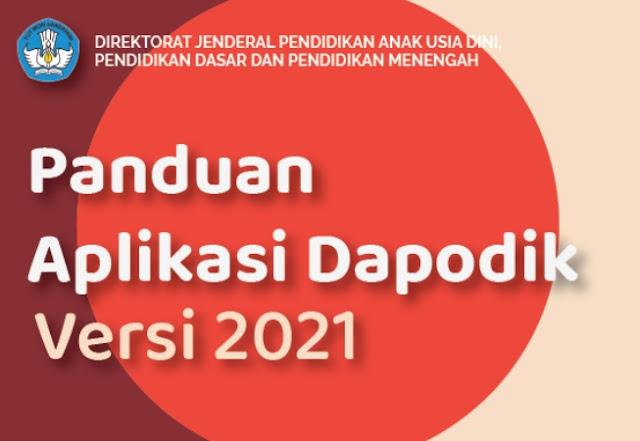 Download Panduan Aplikasi Dapodikdasmen Versi 2021